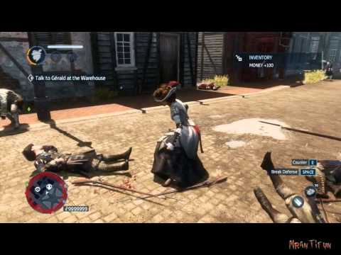 Assassin Creed Liberation HD Trainer +5 crash fixed