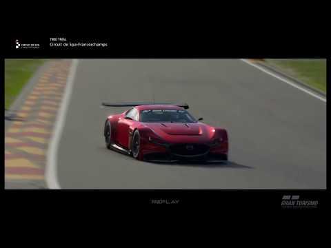 Mazda RX Vision GT3 Concept Showcase [Gran Turismo Sport]