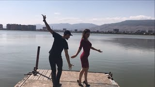 Девушка Очень Прекрасно Танцует В Махачкале С Парнями 2019 Лезгинка ALISHKA AZARINA ELVIN (Дагестан)