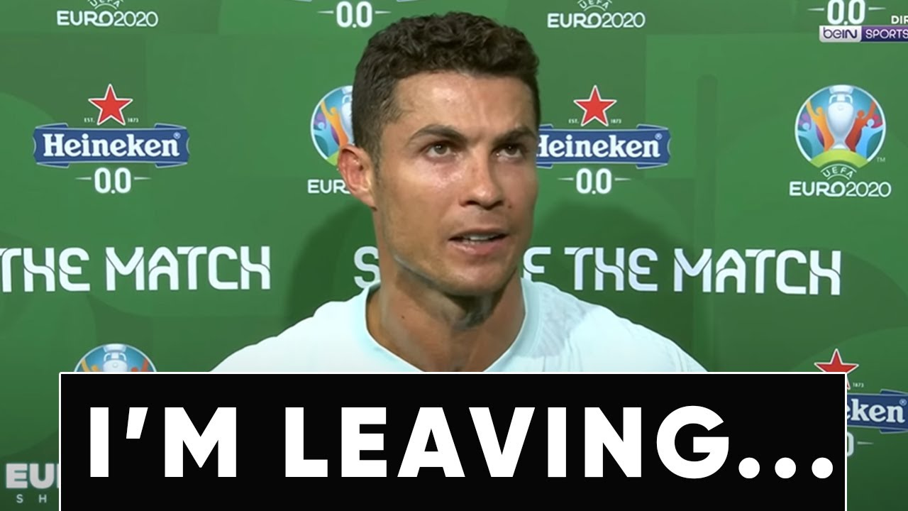 RONALDO CONFIRMED THAT HE IS LEAVING JUVENTUS!? CRISTIANO ALLOWED such SCENARIO for the first time!