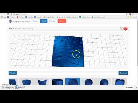 144 - Da 2D a 3D - Come ricavare file 3d in automatico - Decorazione Albero Natale