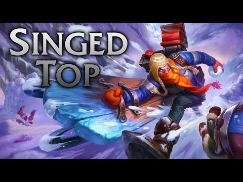 League of Legends | Snow Day Singed Top - Full Game Commentary