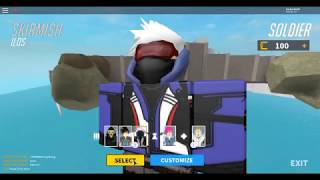 playing overwatch on Roblox!