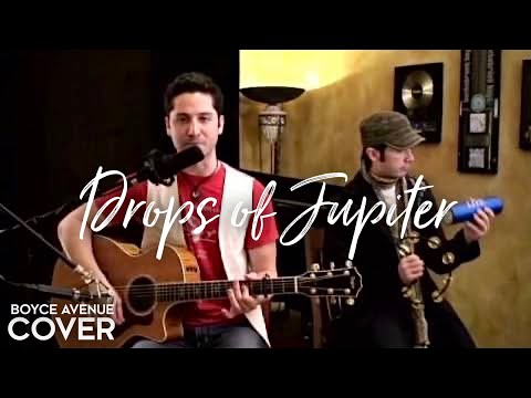 Train  Drops of Jupiter Boyce Avenue acoustic  on  & Apple