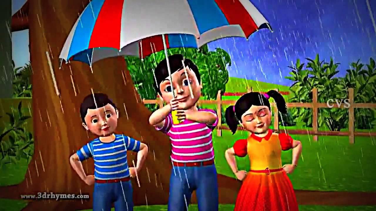 أغنية المطر للأطفال Rain Rain Song Youtube