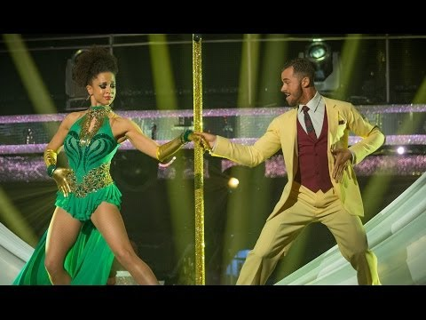 Natalie Gumede and Artem's dance to 'Steppin' Out With My Baby'  Strictly Come Dancing  BBC