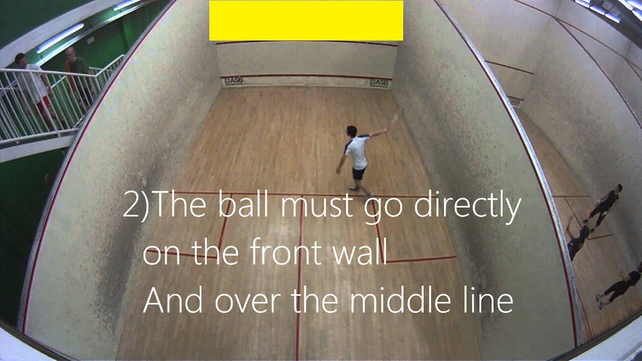 Squash Basics How to Play Squash