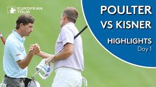 Poulter vs Kisner | Day 1 | 2019 WGC-Dell Technologies Match Play