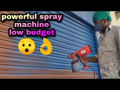 Spray Painting Machine Low Budget (full Review) Heavy Work