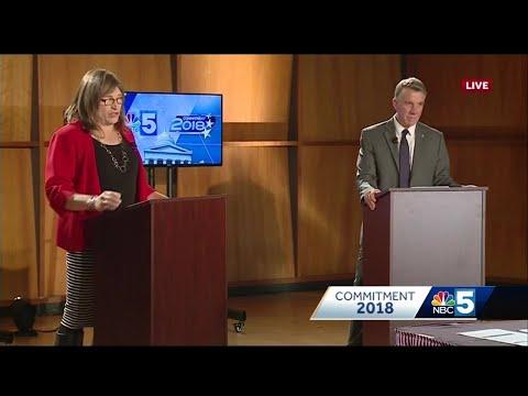 Full video: Vermont gubernatorial debate on NBC5