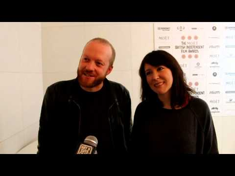 Alice Lowe and Steve Oram Interview - 2012 BIFA Nominations