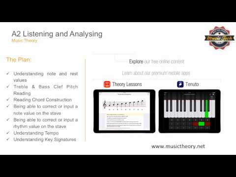 A2 Music Technology Exam Revision Guide - Music Theory