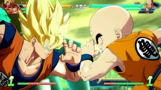 DRAGON BALL FighterZ Open Beta goku vegeta gohan