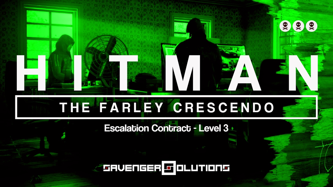 hitman the farley crescendo level 3 escalation contract silent assassin ps4 youtube. Black Bedroom Furniture Sets. Home Design Ideas