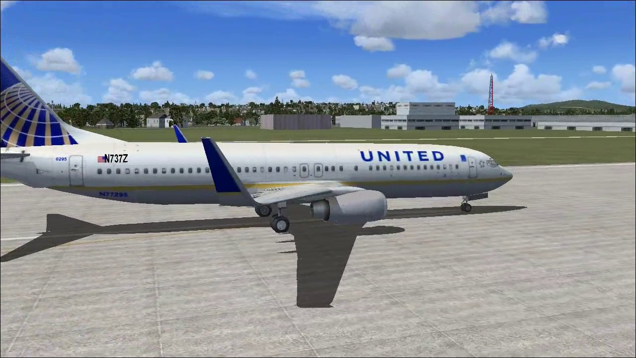United Airlines - Boeing 737-800 - FSX MOD (DOWNLOAD)