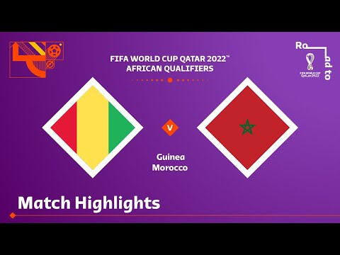 Guinea Morocco Goals And Highlights