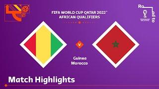 Гвинея  1-4  Марокко видео