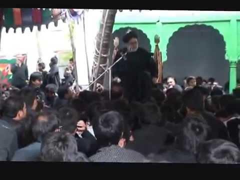 Maulana Raza Agha Hadees at Pari Mahal 2009
