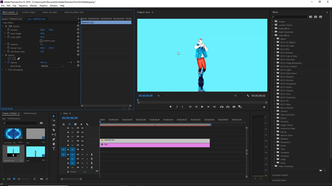 Just Dance Mashup Masking Tutorial for Premiere Pro Users