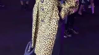 Leopard trench coat : Slay Network
