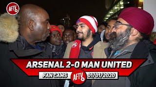 Arsenal 2-0 Man United | New Decade, New Arsenal!! (Singh Twins)