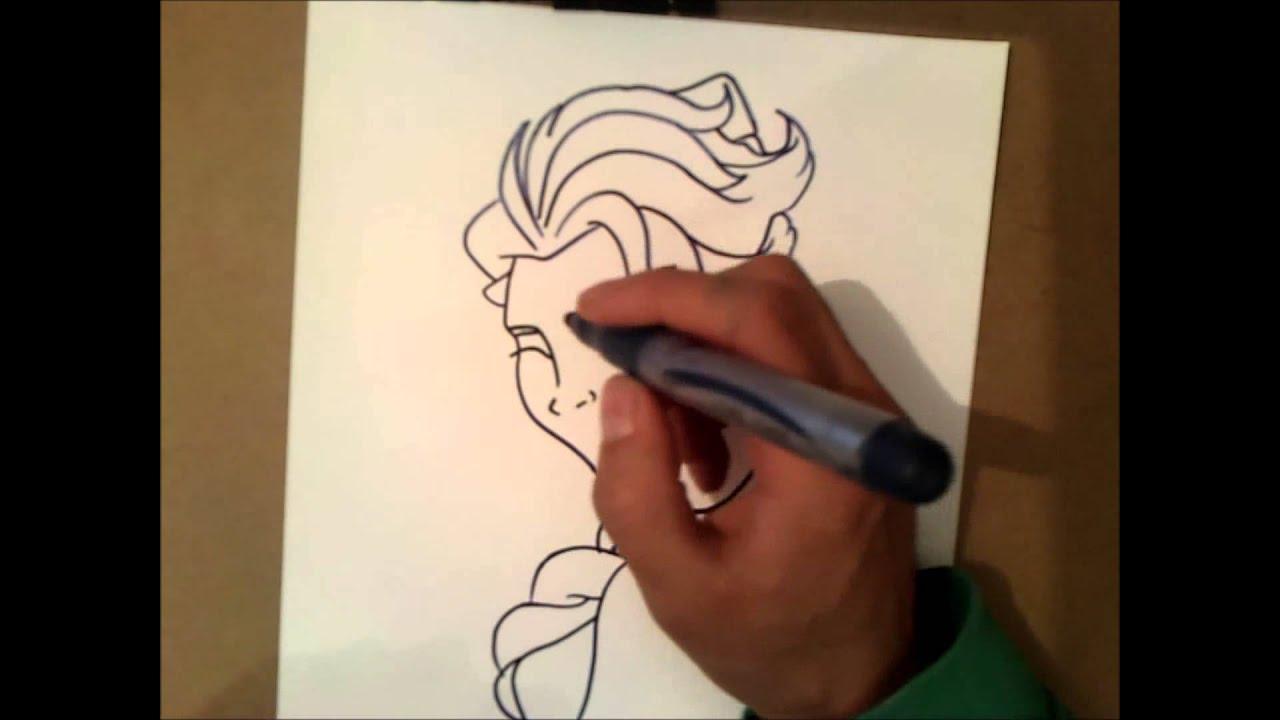 Wie Elsa Zeichnen Youtube