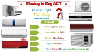 how to buy Best ac in india||ac buying guide india 2017||tips to buy ac in india