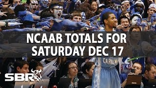 NCAA Basketball Picks | Game Totals For Saturday, December 17th