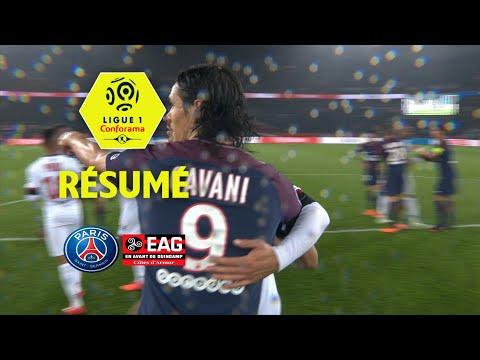 Paris Saint-Germain - EA Guingamp ( 2-2 ) - Résumé - (PARIS - EAG) / 2017-18