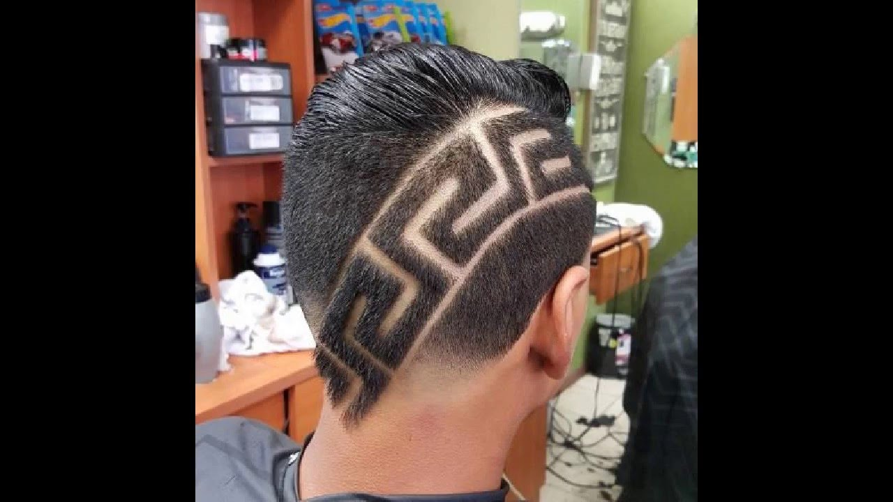 cool haircut design stylish