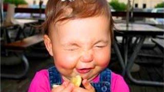 Bebés Comiendo Limones Por Primera Vez La Compilación 2015 - Vídeos Divertidos 2015 - 1080P - HD
