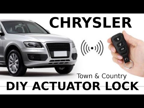 How to Install Replace Power HATCH Lock Actuator Chrysler 1991-2000