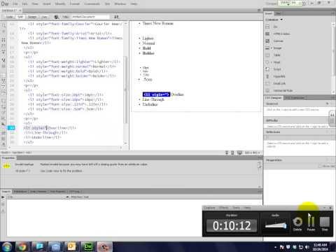 HTML Lab 4-1