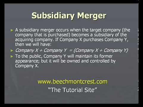 Merger Law Associates: Mergers and Acquisitions - Key Concepts