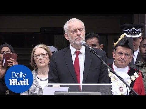 Jeremy Corbyn speaks on anniversary of Finsbury Park attack