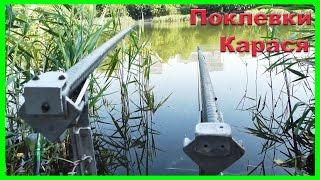 Поклевки КАРАСЯ. Поплавочная удочка. Рыбалка. Fishing. Ловля на поплавок(Поклевки КАРАСЯ. Поплавочная удочка. Рыбалка. Ловил на червя. .….((Мой канал- это (в основном) канал ЛЮБИТЕЛЯ-р..., 2016-07-06T03:40:25.000Z)