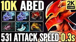 Crazy +500 AS Build from ABED 10K MMR Asian God Dota 2