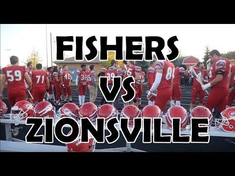 Fishers High School Vs Zionsville High School Football Game 2017
