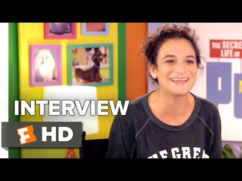 The Secret Life of Pets Interview - Jenny Slate (2016) - Animated Movie