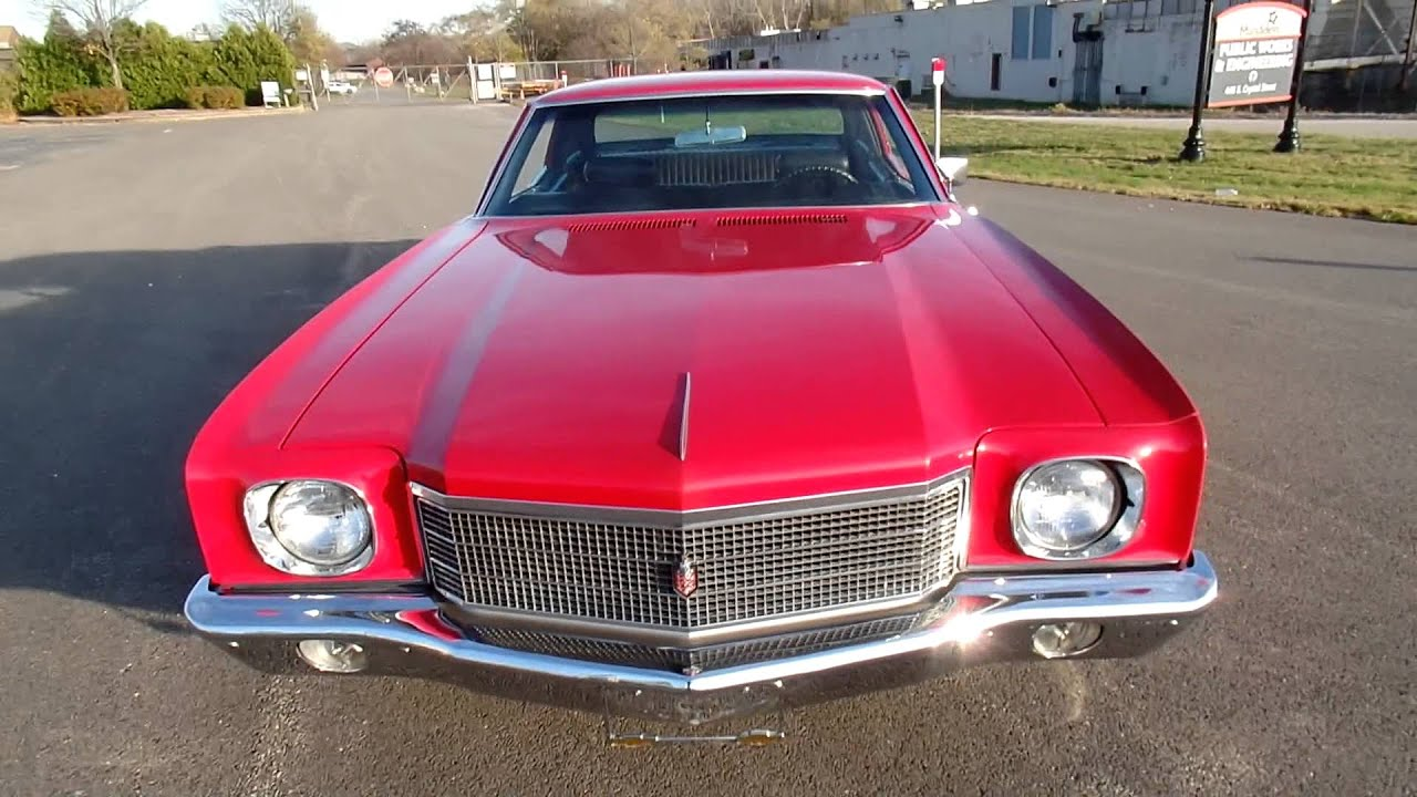 1970 monte carlo ss454 for sale north shore classic cars youtube. Black Bedroom Furniture Sets. Home Design Ideas