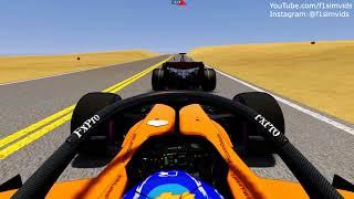 F1 2018 vs F1 2007 Drag Race