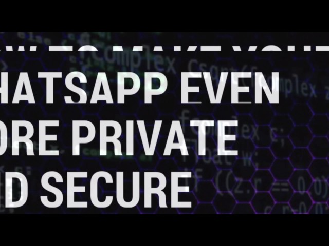 How to Secure Your WhatsApp From Getting Hacked!How to Know if your WhatsApp Account Has Been Hacked