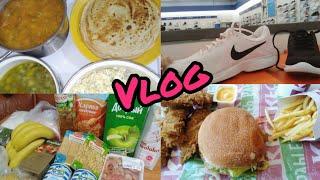 VLOG:По магазинам.Кушаем в KFC.Покупки продуктов.Что мы едим.Блины на масленицу.(6-7.03.19)