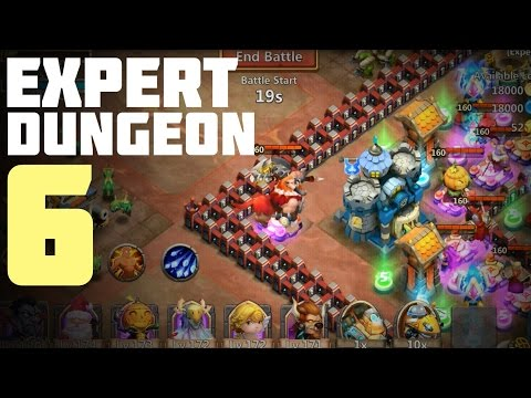 Castle Clash: Expert Dungeon 6