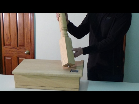 How to Install a Newel Post using the KeyLock Newel Post Fastener