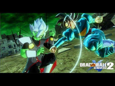 Grand Priest Goku vs Mecha Zamasu(Story Modded Cutscenes) - Dragon Ball Xenoverse 2 Mods