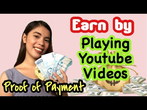 Earn by PLAYING YOUTUBE VIDEOS: Legit Paying Website | Make Money Online | Easy Play | Easy Money