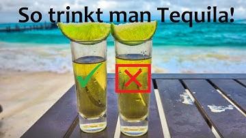 Anleitung: Wie man Tequila richtig trinkt