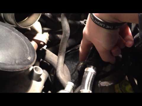 volkswagen jetta oil leak, vacum pump | FunnyCat.TV