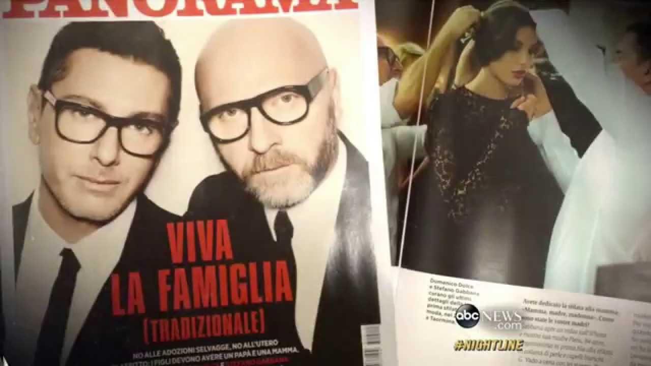 67e2685a1a28 Dolce & Gabbana: 'Synthetic Baby' Comments Spark Boycott. ABC News
